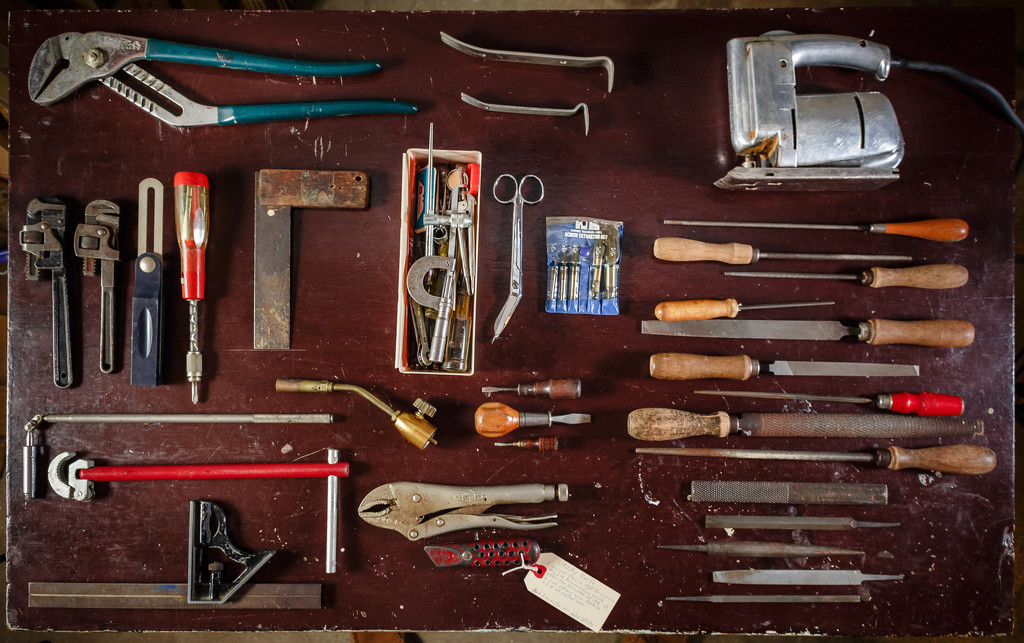 Tools from Grandpa's  by batfish