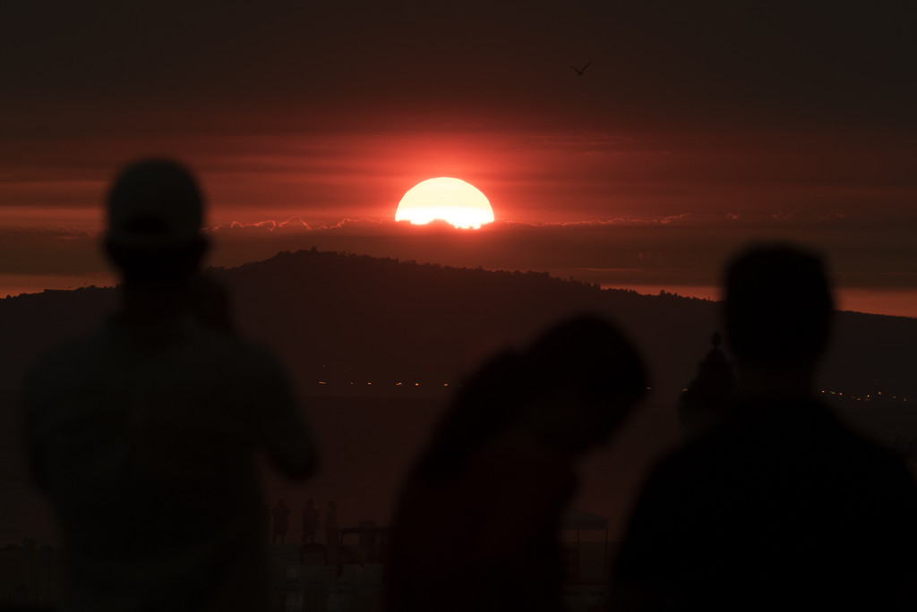 Smokin' Hot Sunsets! by Weezilou