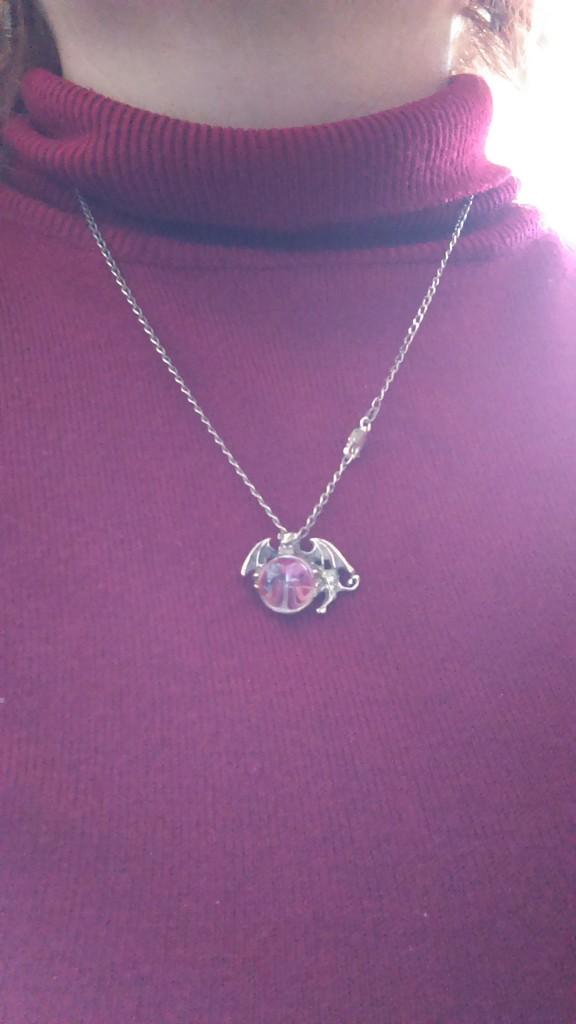 Dragon necklace by mozette