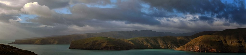 Panorama from Godley Head by maureenpp