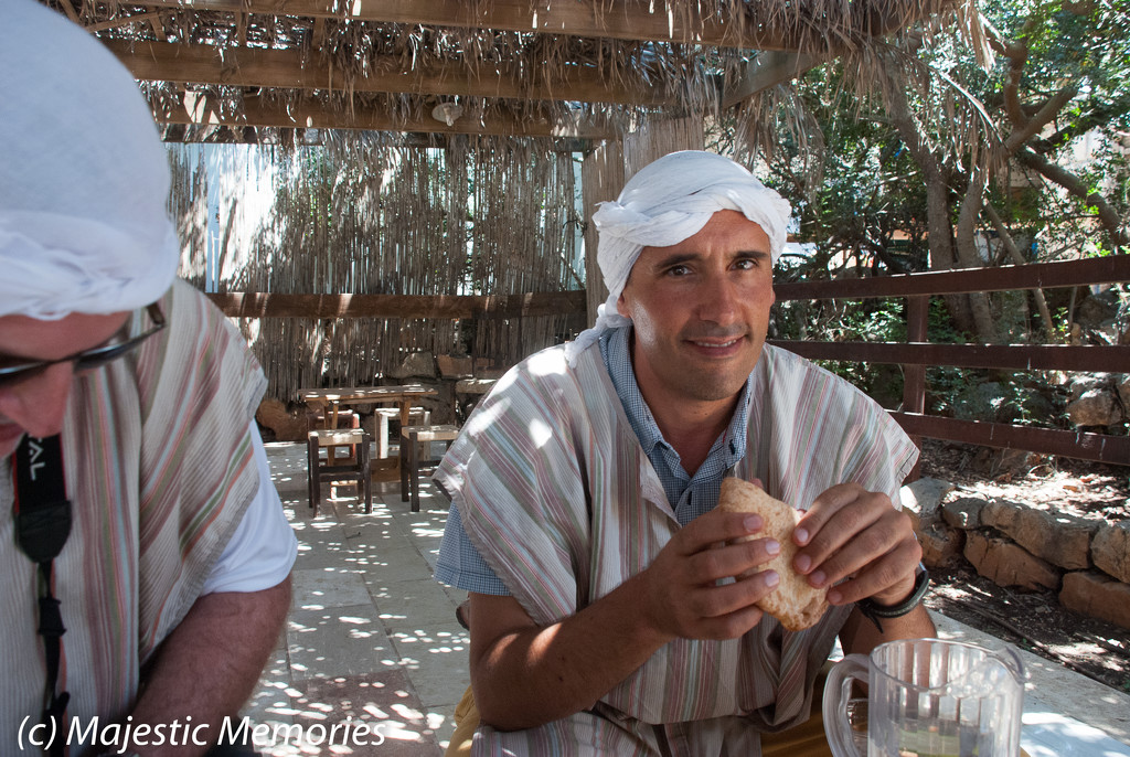 Kfar Kedem lunch by mgbio