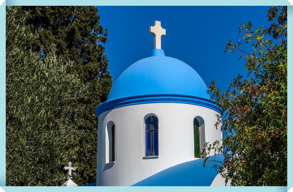 Church Of The Panagia Syntriani,Kos by carolmw