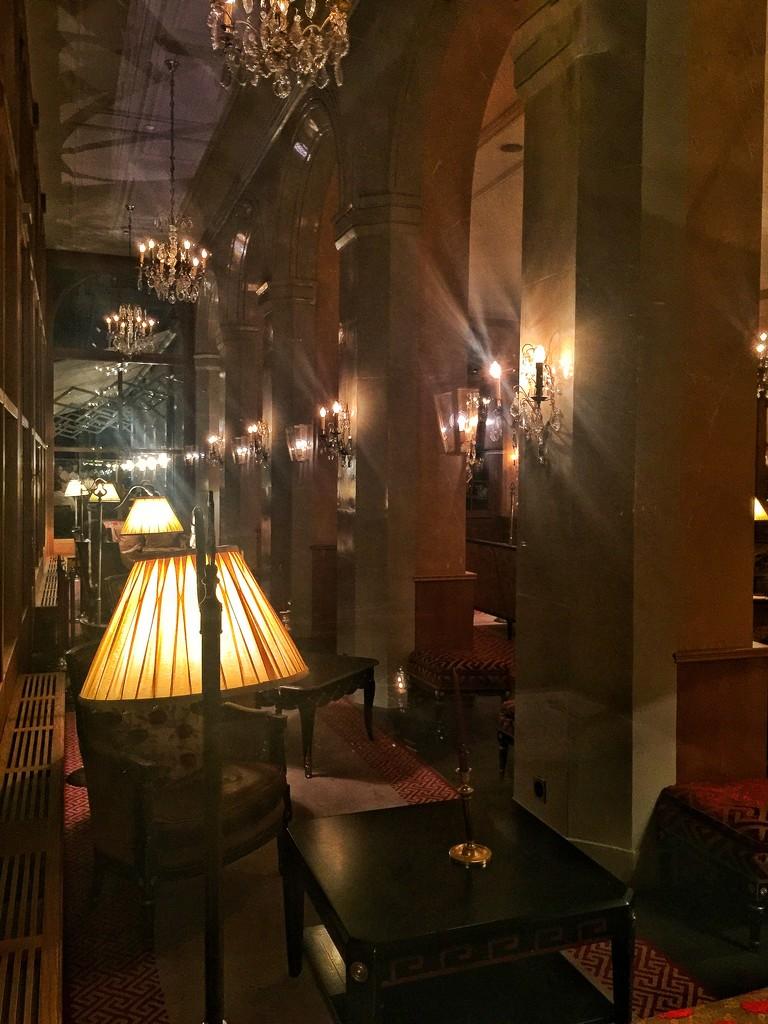 Inside Hôtel des Trois Rois.  by cocobella