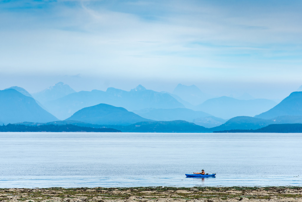 Kayaker by kwind