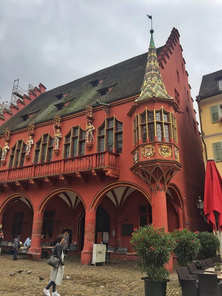 Red building.  by cocobella