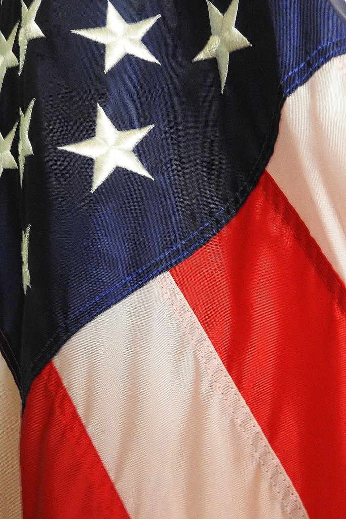 The stars and stripes! by homeschoolmom