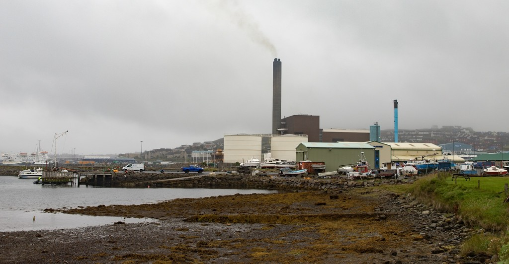 Lerwick Power Station by lifeat60degrees