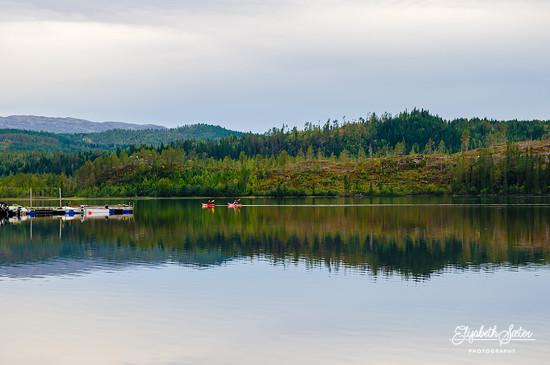 Reflections on Svorksjøen 2 by elisasaeter