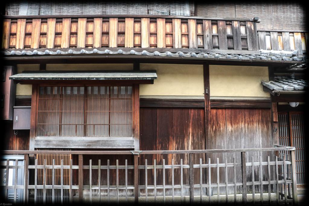 Gion Geisha quarters by flyrobin