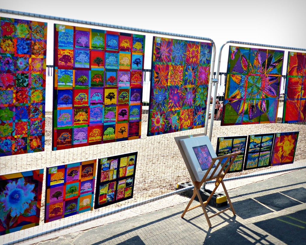 Art on the Prom by judithdeacon