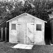 2nd Sep 2018 - Shed done