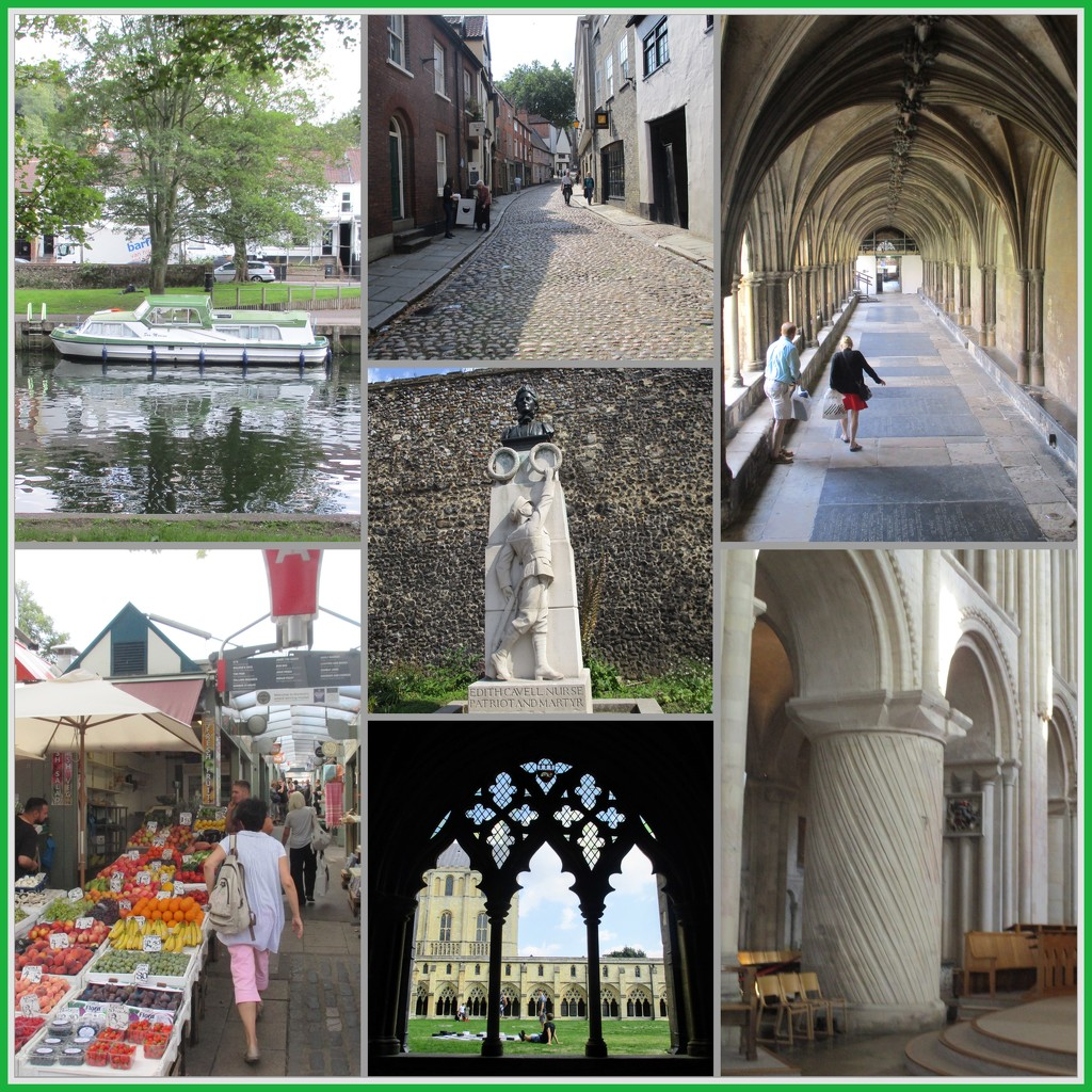 Norwich Collage by foxes37