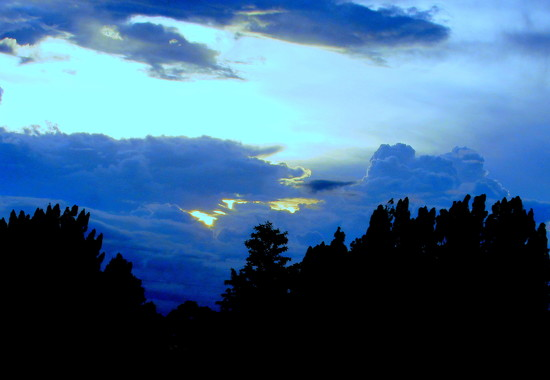 Always a different cloud formation by bruni
