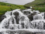 25th Jun 2018 - Faroe Waterfall