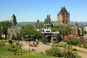 2nd Jun 2018 - Quebec and Fairmont's Le Château Frontenac