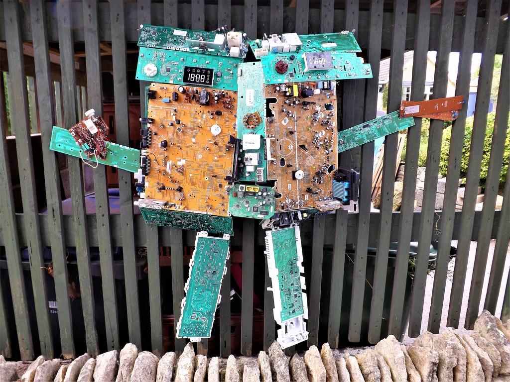 Circuit Board Man by ajisaac