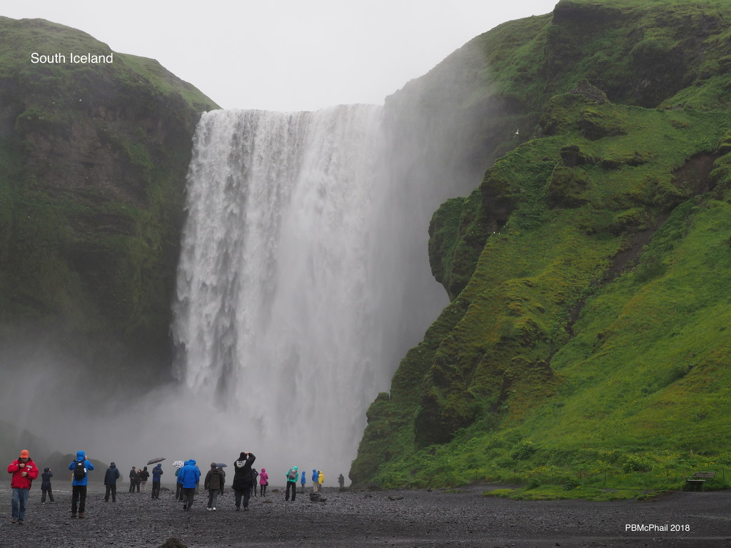 Spectacular Waterfall, Iceland by selkie