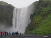 30th Jun 2018 - Spectacular Waterfall, Iceland