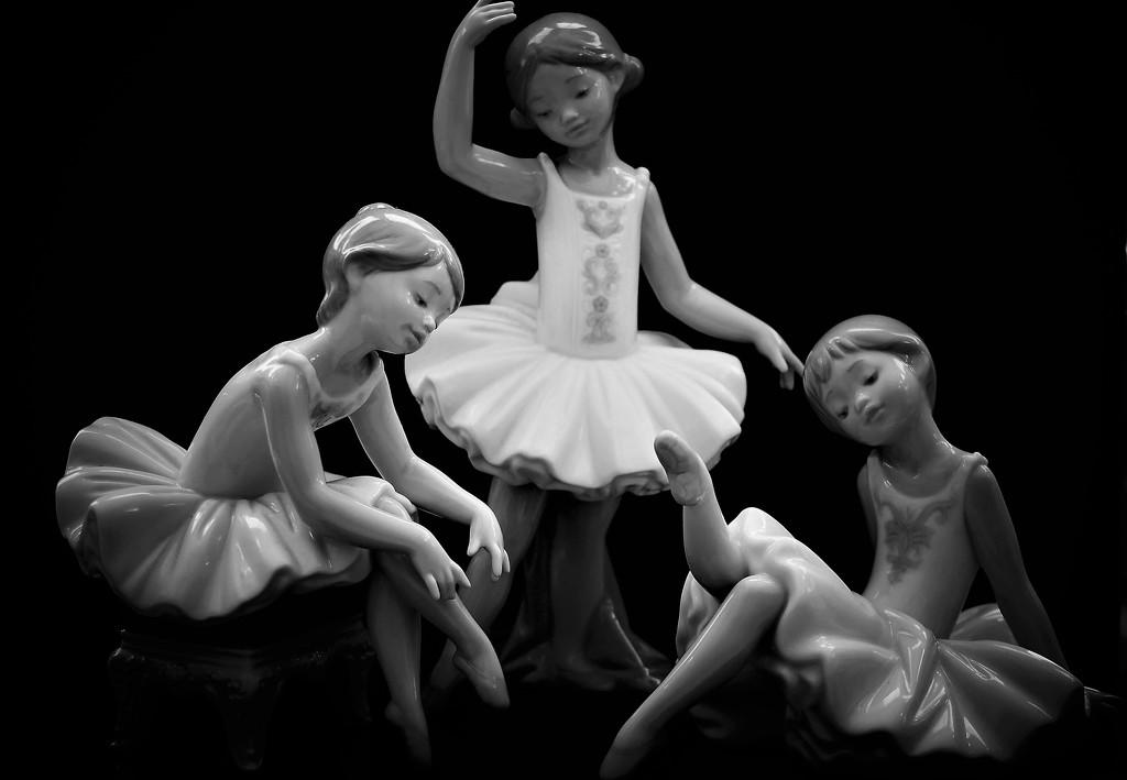 Ballerina Trio by carole_sandford