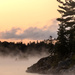Foggy Sunrise by radiogirl