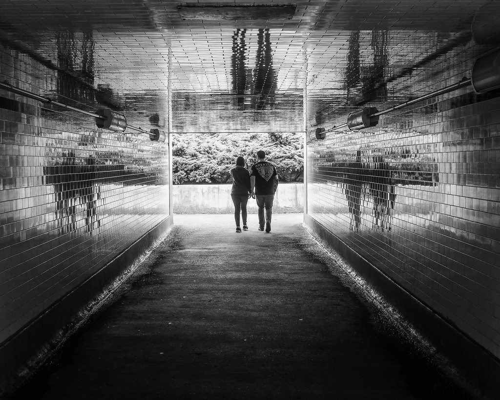 Tunnel Walkers by rosiekerr