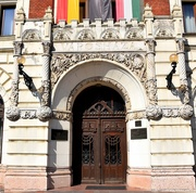 9th Sep 2018 - The entrance to the Town Hall