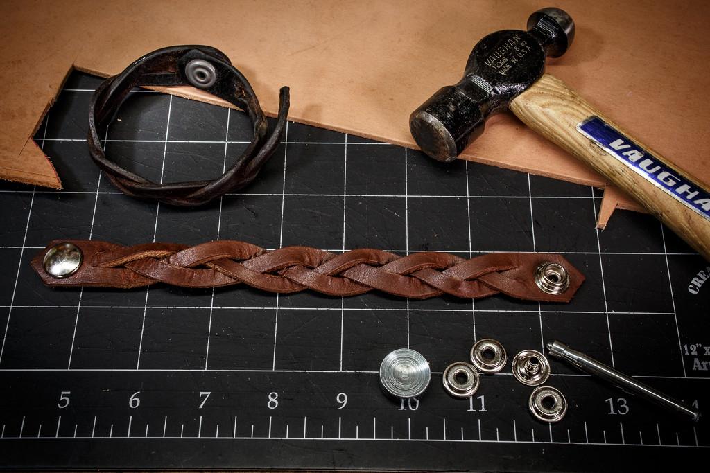 Leather Bracelet by batfish