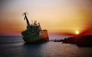 12th Sep 2018 - Shipwreck Sunset