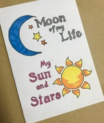10th Sep 2018 - My Moon, My Sun, My Stars