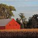 Illinois Farm at Sunset