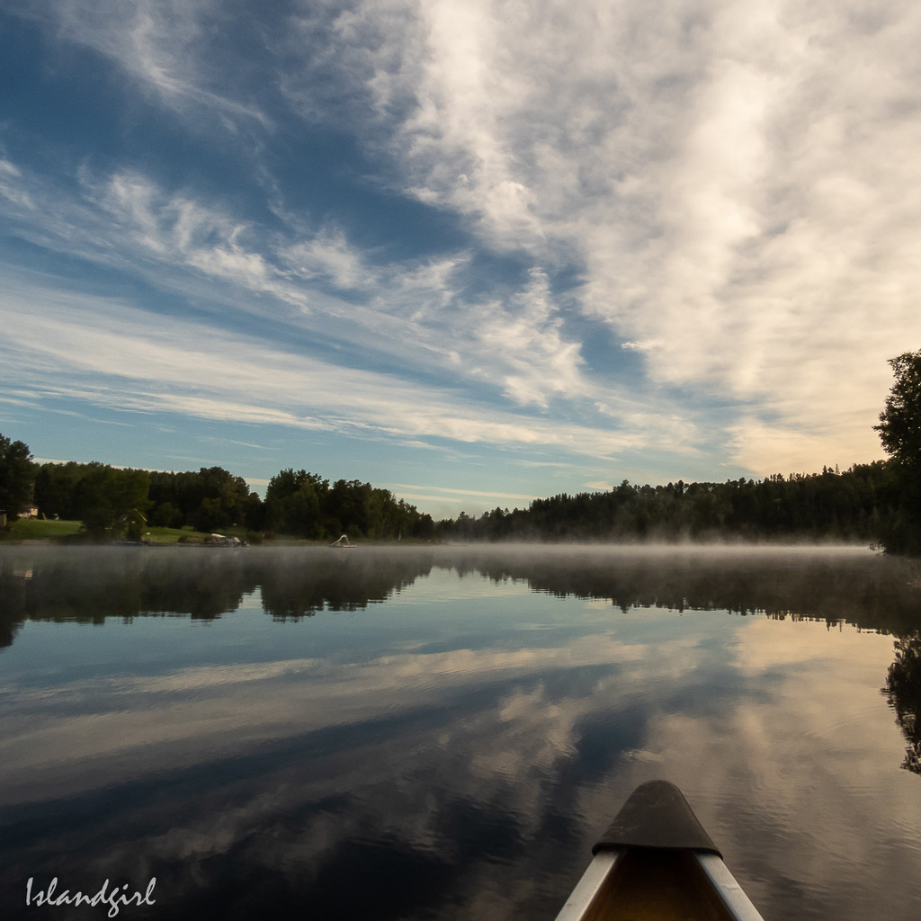 Canoeing  by radiogirl