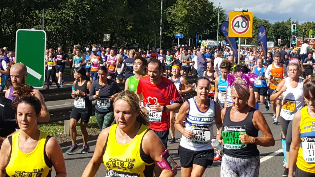 Great North Run by geezerbird