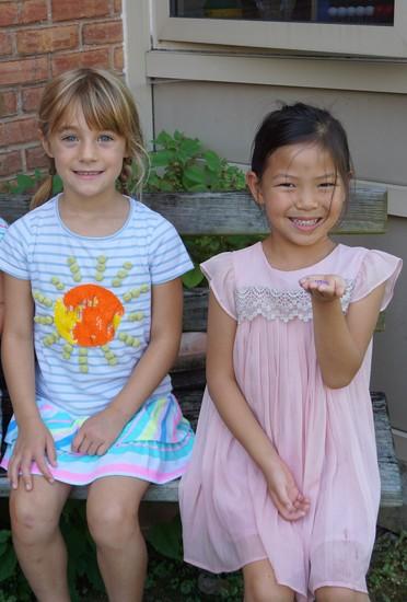 Girls in the Garden by allie912