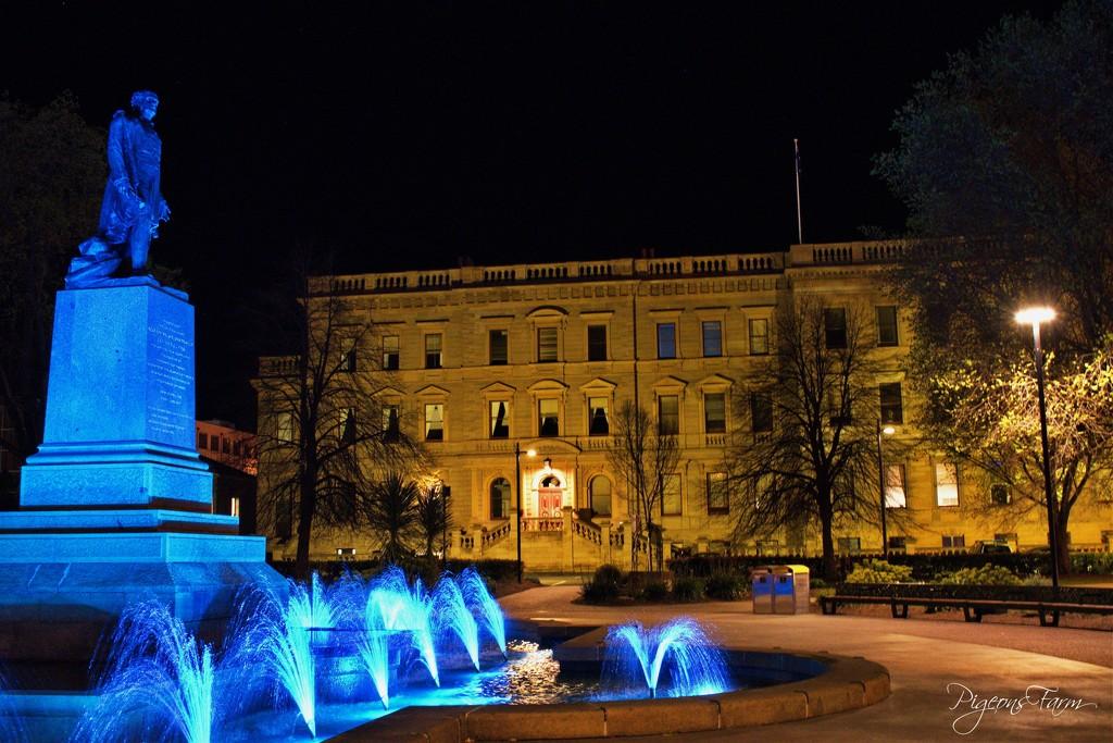 Franklin Square, Hobart, Tasmania, Australia by kgolab
