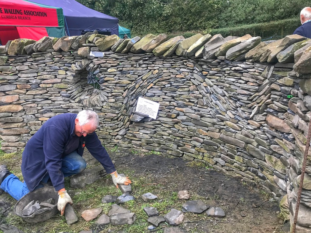Dry stone walling by happypat