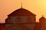 15th Sep 2018 - Ecclesiastical Sunset, Cyprus