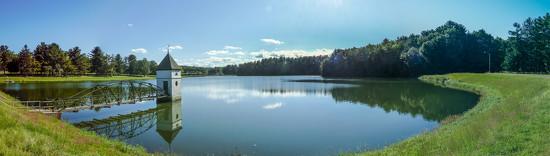 Reservoir Panorama by batfish