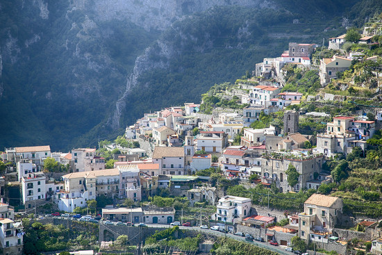 Ravello Mountainside by pdulis