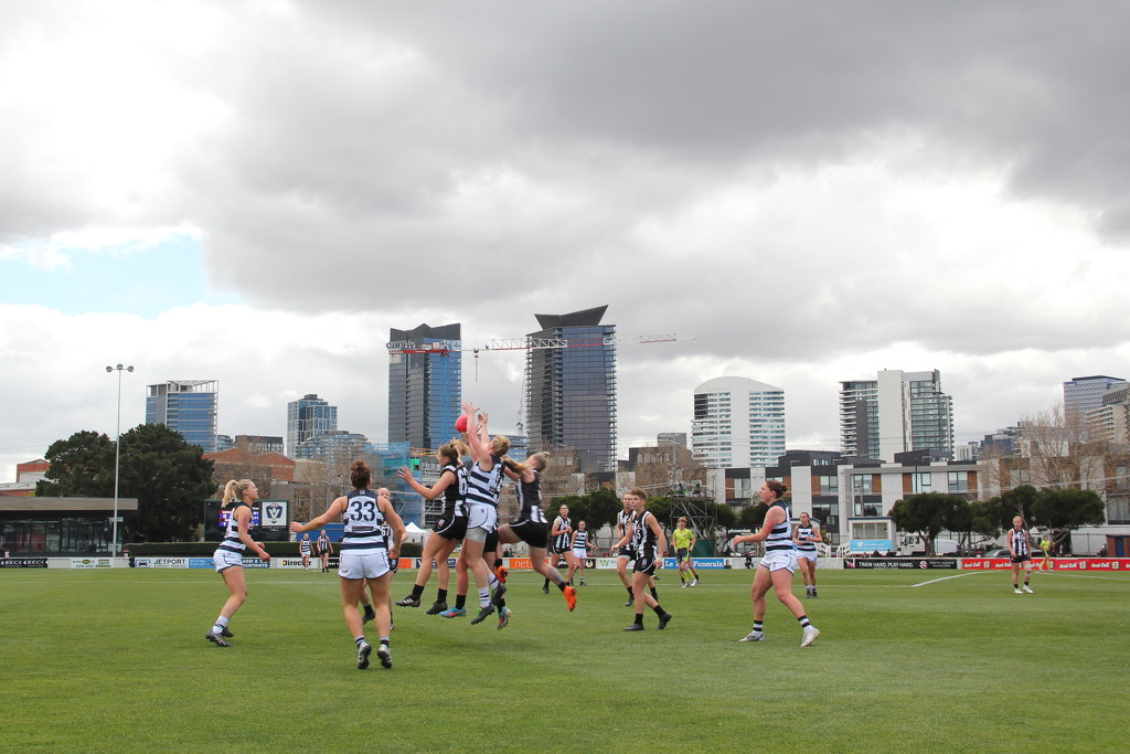 Footy in the city by gilbertwood