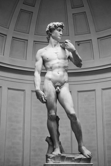 Michelangelo's David by jamibann