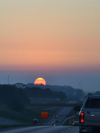 An East Texas sunrise by louannwarren