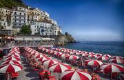 19th Sep 2018 - Amalfi Beach Umbrellas