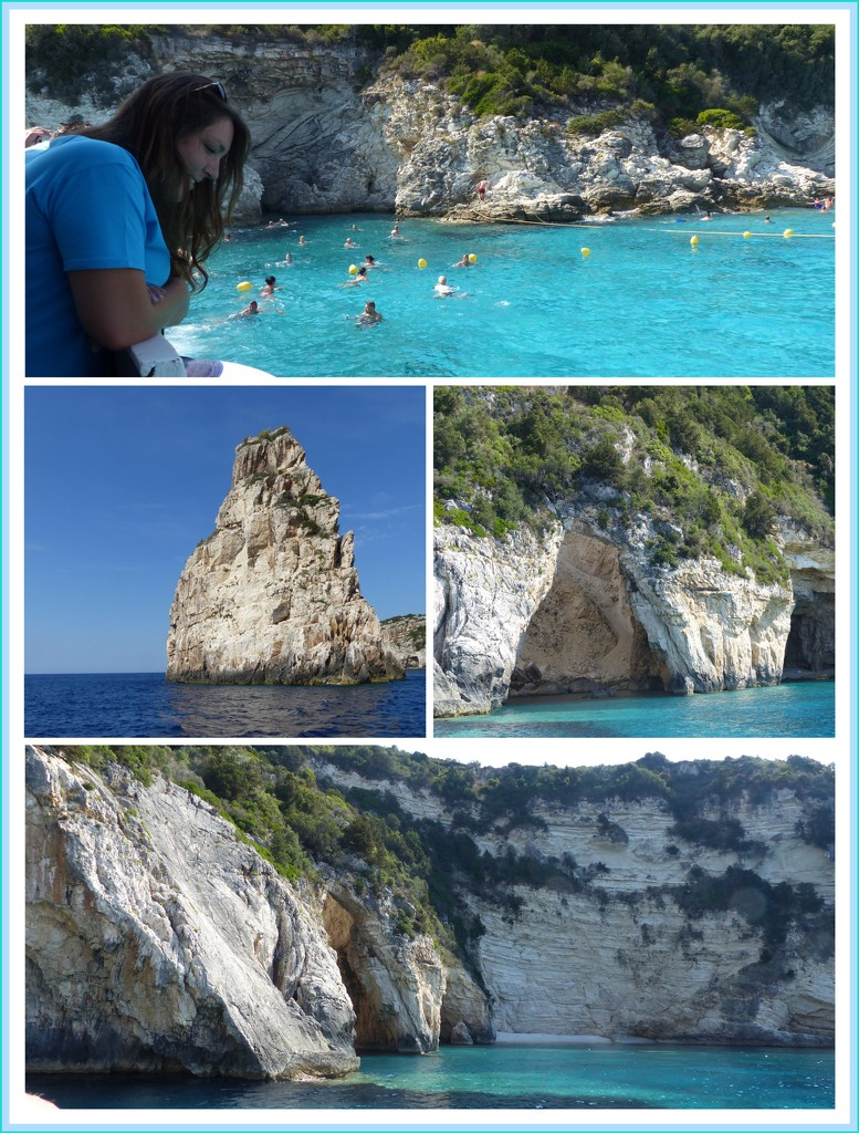 The Blue Caves Paxos  by foxes37