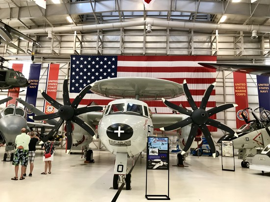 The E-2C Hawkeye by louannwarren