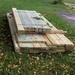 Lumber delivered  - Joan gets her deck