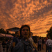 Sunset at the 2018 Plaza Art Fair in Kansas City  by kareenking