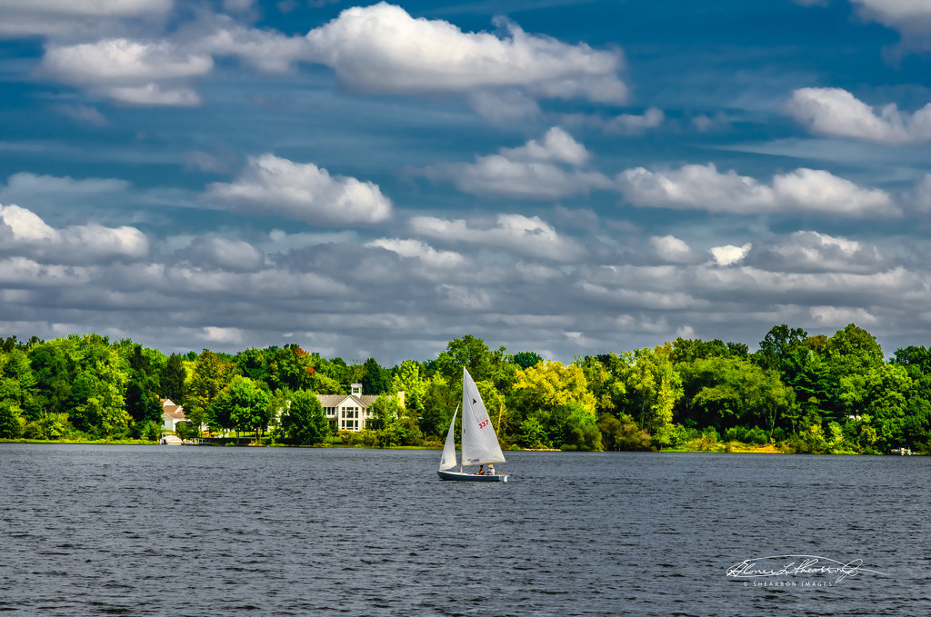 Sailing by the estate by ggshearron