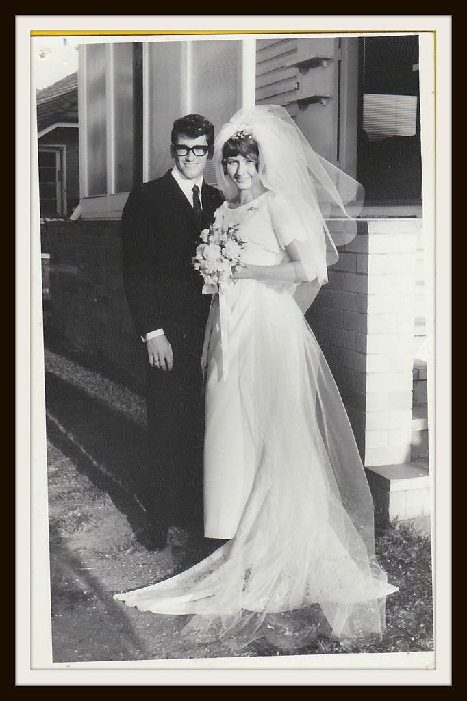 Mr & Mrs B Parker 20/19/1969 by loey5150