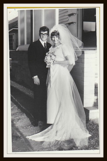 Mr & Mrs B Parker 20/19/1969 by loey5150