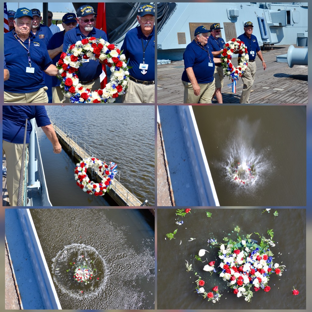 The memorial wreath laying ceremony by louannwarren